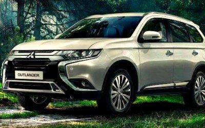 Новый Mitsubishi Outlander легализован в России