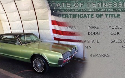 Какие документы бывают у автомобиля на аукционах США