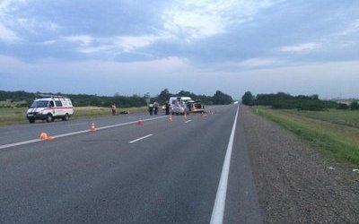 Женщина погибла в ДТП на Волоколамском шоссе