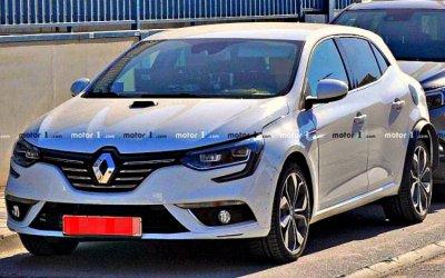 Начато тестирование гибридной версии Renault Megane