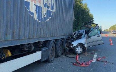Женщина и подросток погибли в ДТП в Смоленской области