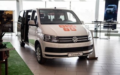 Ваш идеальный шаттл – Volkswagen Caravelle