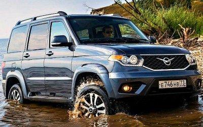 «УАЗ» поднял цены натри модели