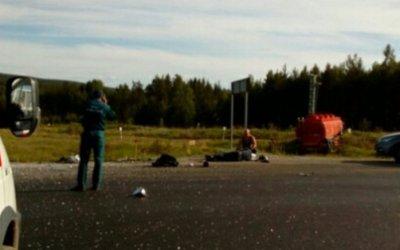 Два человека погибли в ДТП с автобусом вЧелябинской области