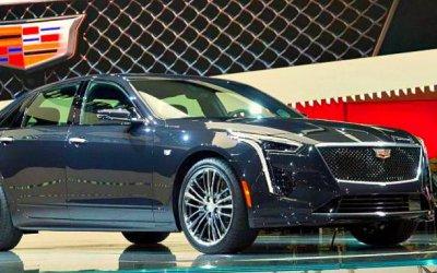 Повышены цены наобновлённый Cadillac CT6
