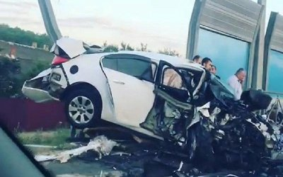 В лобовом ДТП на Кубани погибли два человека