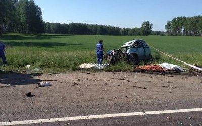 Три человека погибли в ДТП в Красноярском крае