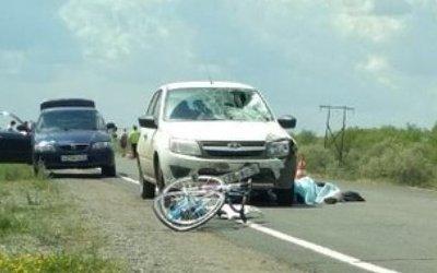 ВОренбургской области в ДТП погибла 14-летняя велосипедистка