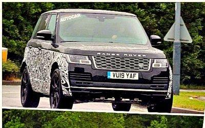 ВАнглии тестируется новый Range Rover