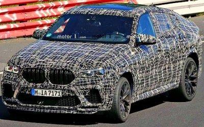 На «Нюрбургринге» замечен новый BMW X6 M