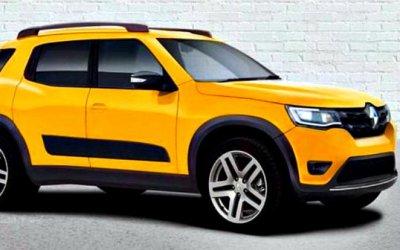 Renault готовит новый сверхкомпактный кроссовер
