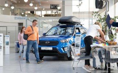 КЛЮЧАВТО и Hyundai устроили пикник в Москве