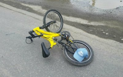 В Свердловской области иномарка сбила 12-летнего велосипедиста