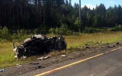 Три человека погибли в ДТП в Череповецком районе