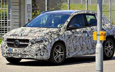 Mercedes-Benz GLA проходит рестайлинг