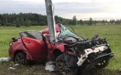 Три человека пострадали в ДТП на трассе «Кола»