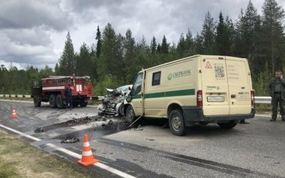 Три человека погибли в ДТП с инкассаторской машиной в Архангельской области
