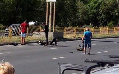 В Тольятти мотоциклист насмерть сбил пешехода
