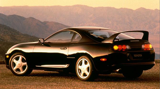 2 Toyota Supra Turbo