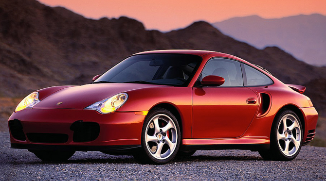 5 Porsche 911 Turbo