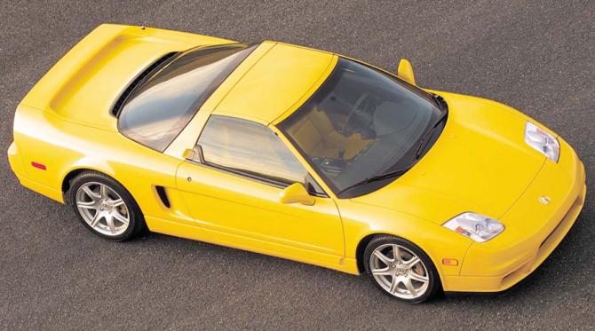 1 Acura Honda NSX