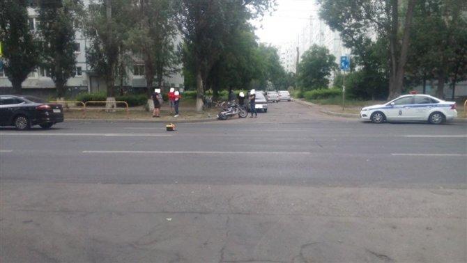 В Тольятти мотоциклист пострадал в ДТП