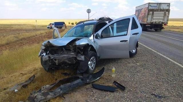 Шесть человек пострадали в ДТП в Калмыкии (1)