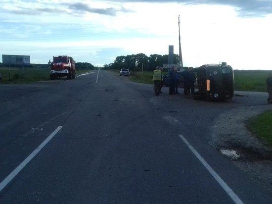 Три человека пострадали в ДТП в Ясногорском районе Тульской области