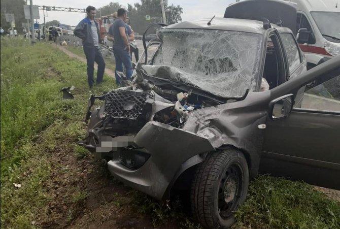 Шесть человек, включая детей, пострадали в ДТП под Уфой (1)