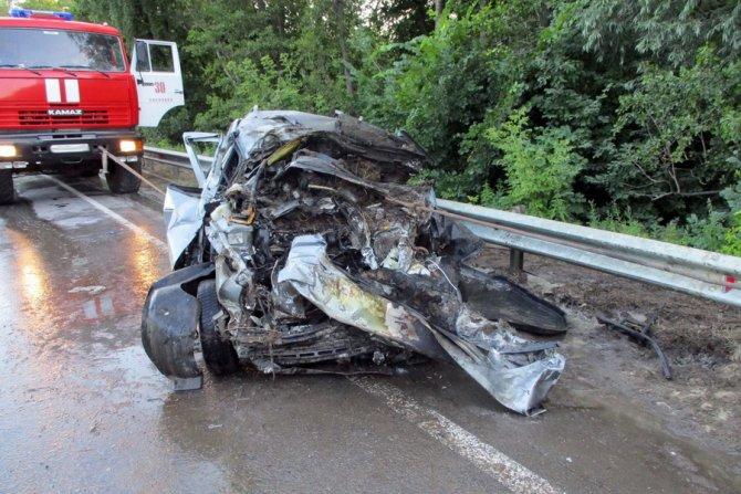 В Тамбовской области в ДТП с КамАЗом погиб человек