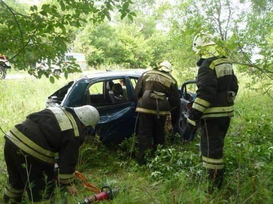 Три человека пострадали в ДТП под Тулой