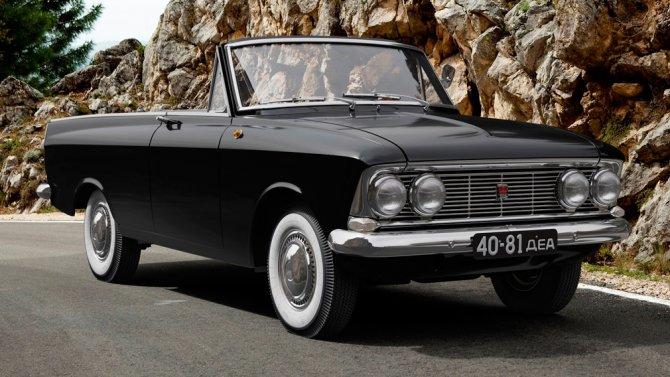 3 АЗЛК «Москвич 408 Турист» 1964