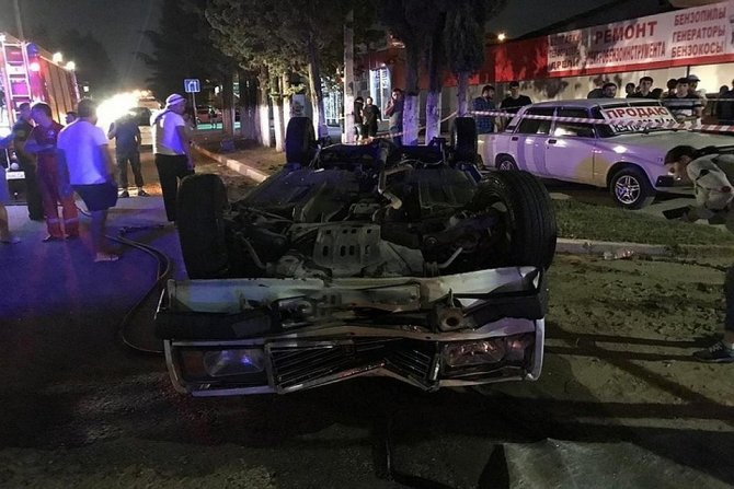 В Сочи ВАЗ насмерть сбил двух пешеходов