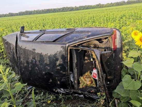 Пассажир ВАЗа погиб в опрокинувшейся машине в Бузулукском районе
