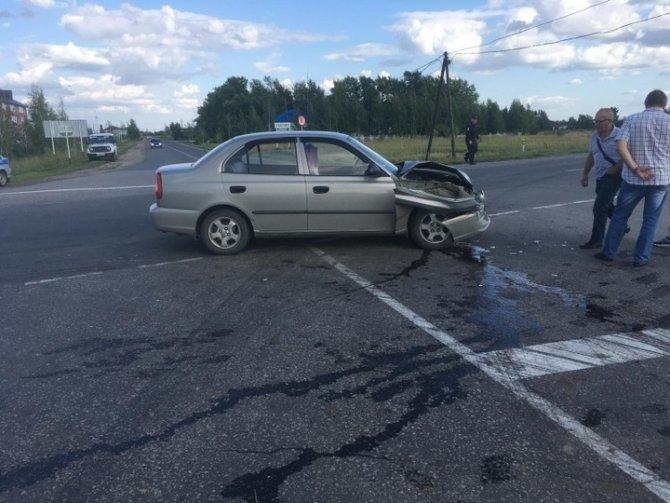 По вине автоледи в ДТП в Ухоловском районе пострадали двое детей (2)