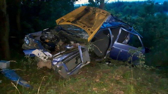 Во Владимирской области при опрокидывании машины в кювет погиб человек (1)