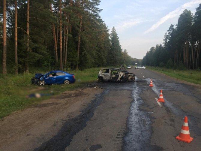 Два человека погибли в ДТП в Удмуртии (5)