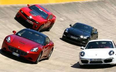 Топ-5 спорткаров, которые хороши нетолько вовремя гонок