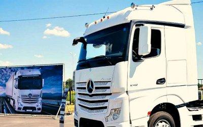 ВРоссии открылся новый дилерский центр грузовиков Mercedes-Benz