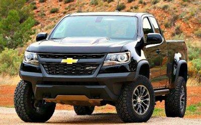 Новый Chevrolet Colorado: кое-что стало известно