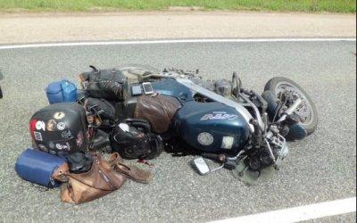 Мотоциклист погиб в ДТП на трассе Елабуга – Пермь