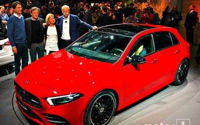 Mercedes-Benz подготовил новый гибридомобиль