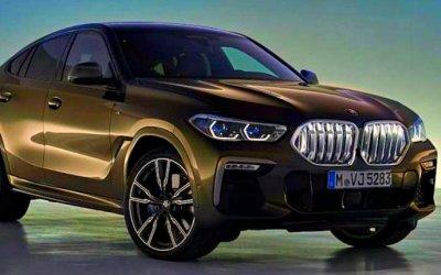 Стала известна внешность нового BMW X6