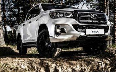 Toyota привезла вРоссию спецверсию пикапа Hilux