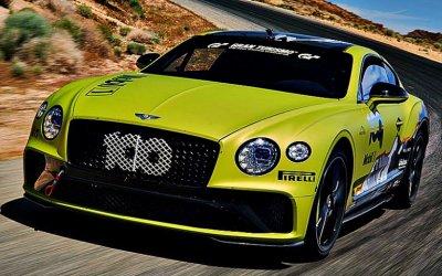 Bentley Continental GT: рекорд в честь юбилея