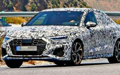 Стал известен облик нового Audi S3 Sedan