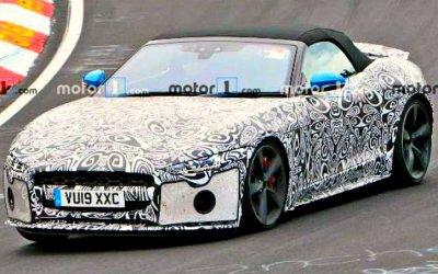 Обновлён спорткар Jaguar F-Type