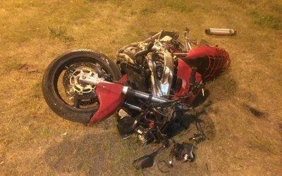 Мотоциклист пострадал в ДТП в Ростовской области