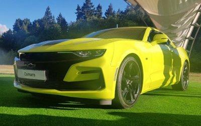Эксклюзивная версия Chevrolet Camaro в Авилон
