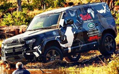 Винтернет выложены документы нановый Land Rover Defender